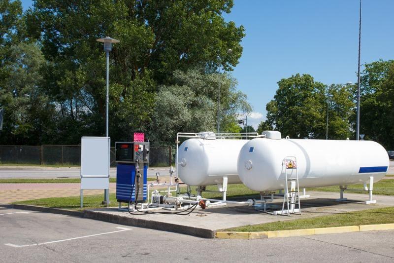 Dostawa gazu do stacji LPG
